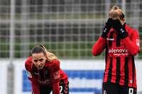 """""""Gefühlte Niederlage"""": SC-Frauen beenden Hinrunde mit Remis gegen Frankfurt"""