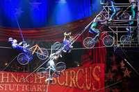 Hochseilartisten stürzen bei Zirkusprobe in Stuttgart ab