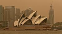 Sydney in giftiger Rauchwolke