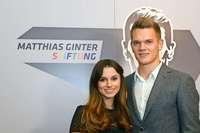 Matthias Ginter und seine Frau Christina freuen sich auf ihr erstes Kind