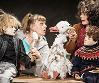 """Puppentheater Halle spielt """"Die Weihnachtsganz Hermine"""""""