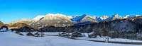 Käs'spatzen und Tiertatzen: Auf Schneeschuhtour im Rohrmoostal