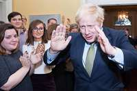 Ein Tories-Triumph wie zu Thatchers Zeiten