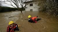 Drei Tote bei Unwettern in Frankreich
