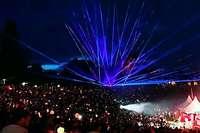 Leise und mit Laser: Freiburger Firma bietet Alternative zu Feuerwerk