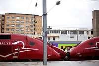 Bahnstreik lähmt Verkehr in der Vorweihnachtszeit