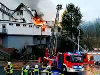 """Drei-Sterne-Restaurant """"Schwarzwaldstube"""" komplett niedergebrannt"""