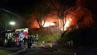 Kindergarten in Wehr brennt in der Nacht vollständig aus