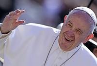 """AUCH DAS NOCH: Papst warnt: """"Nicht beißen!"""""""
