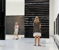 Pierre Soulages schwarze Bilder