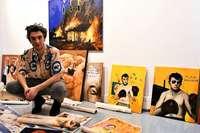 Der Künstler Jonas Mosbacher stellt erstmals in seiner alten Heimat Lörrach aus