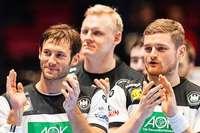 Zittersieg gegen Lettland: Deutschlands Handballer ziehen in die Hauptrunde ein