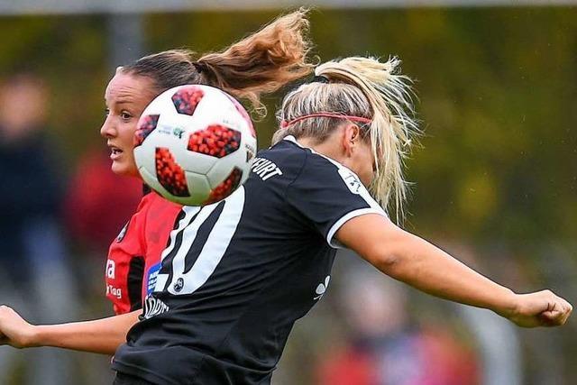 Verena Wieder vom Frauen-Erstligisten SC Freiburg erleidet Kreuzbandriss