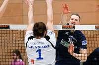Die Volleyballer vom FT 1844 Freiburg können nur noch hoffen und strampeln