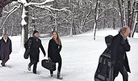 """Die """"Winterreise"""" im Kunstschnee"""