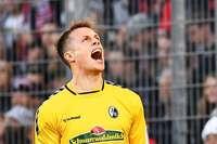 Alexander Schwolow rettet gegen Hoffenheim mit Glanzparaden den 1:0-Heimsieg