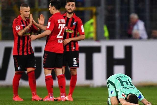 Gegen Hoffenheim gewinnt der SC Freiburg knapp mit 1:0