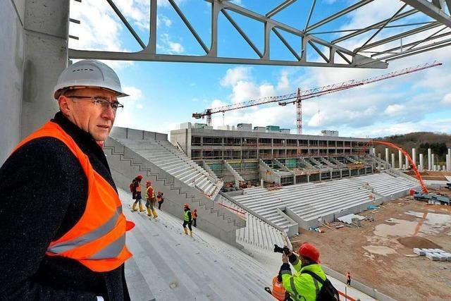 Video: Das neue SC-Stadion nimmt Gestalt an