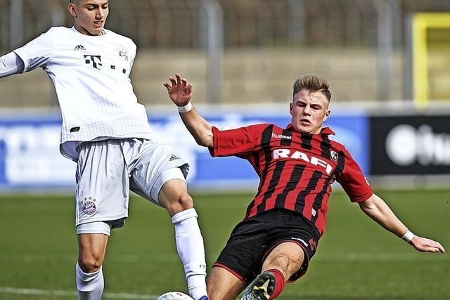 Knapper Sieg für die Bayern