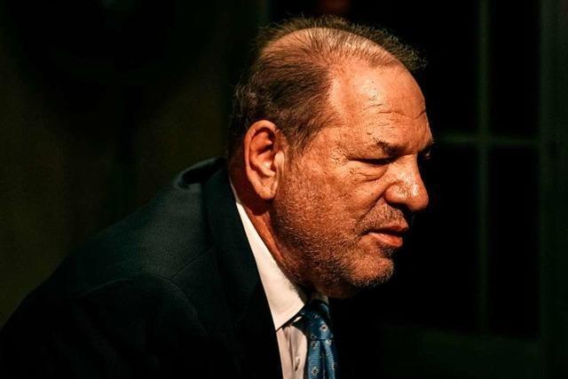 Ex-Filmmogul Weinstein wegen Sexualverbrechen schuldig gesprochen