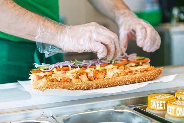 Sandwichkette Subway will in Freiburg ein halbes Dutzend Filialen eröffnen