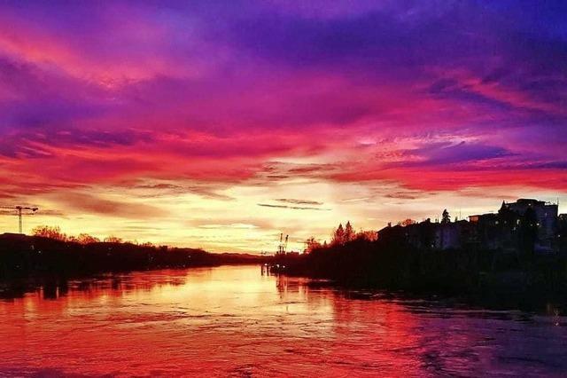 Der Rhein brennt