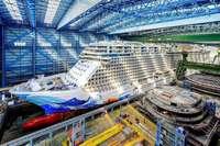 Erleben Sie, wie in der Meyer-Werft in Papenburg Kreuzfahrtriesen gebaut werden!