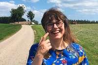 Das ist die neue Dorfschreiberin von Eisenbach