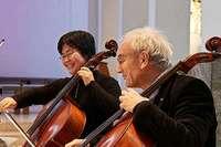 Celloprofessor Gotthard Popp lehrt bei der Freiburger Pflüger-Stiftung