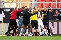 Ein Joker aus Freiburg rettet Nürnberg vor dem Absturz in die dritte Liga