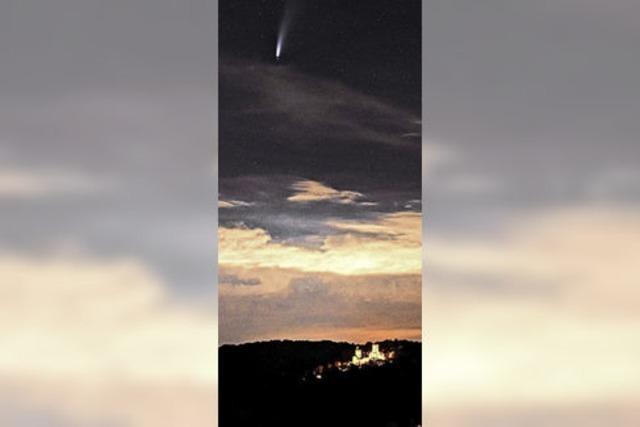 Der Komet und die Burg Rötteln