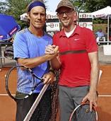 Tennissenioren trotzen Corona