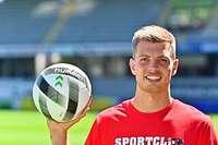 Sportclub nimmt KSC-Torhüter Benjamin Uphoff unter Vertrag