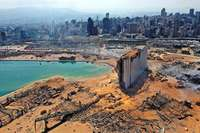 Das Ausmaß der Zerstörung in Beirut erschüttert die Welt
