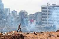 16 Hafenmitarbeiter nach Explosion in Beirut festgenommen