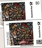 Schmiedefenster ziert Briefmarke