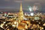 Freiburg, Du siehst ohne Böller-Feuerwerk viel schöner aus an Silvester