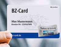 Attraktive Dauerrabatte mit BZ-Card