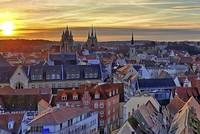 Erfurt mit Buga und Domstufen-Festspielen