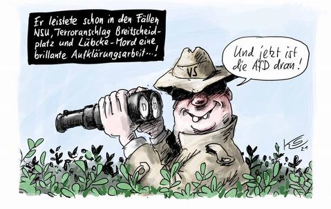 Karikatur Zeichnung: Klaus Stuttmann