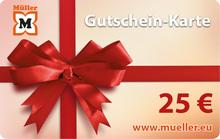 25-Euro-Müller-Gutschein