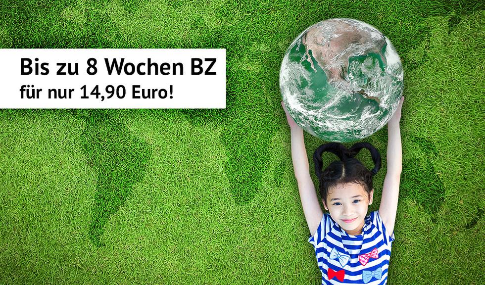 4 Wochen gedruckte BZ oder 8 Wochen Digital Premium für nur 14,90 Euro