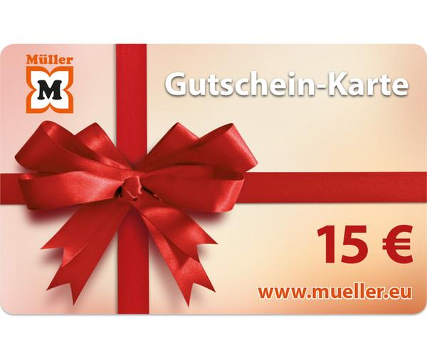 15-Euro-Müller-Gutschein