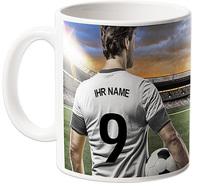 WM-Tasse, personalisiert mit meinem Namen