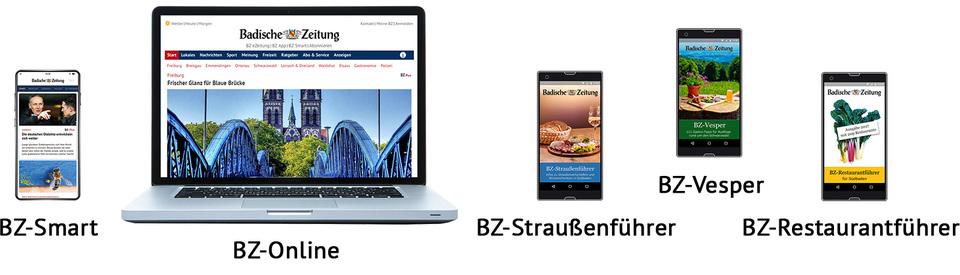 BZ-Digital Basis-Abonnements der Badischen Zeitung