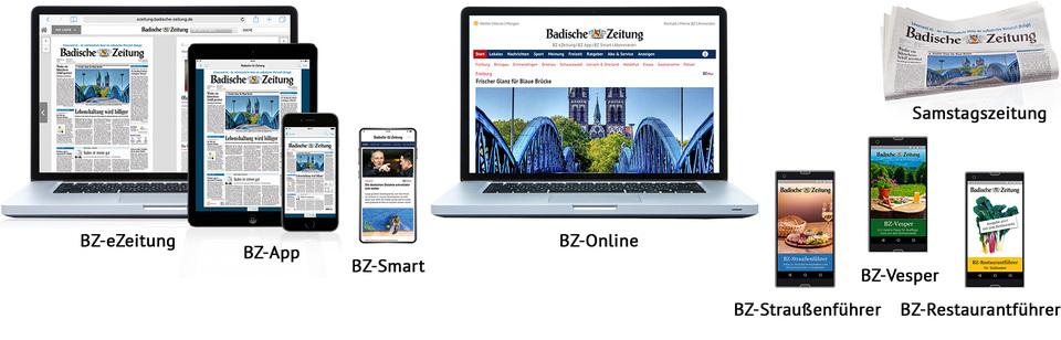 BZ-Digital Premium-Abonnements der Badischen Zeitung