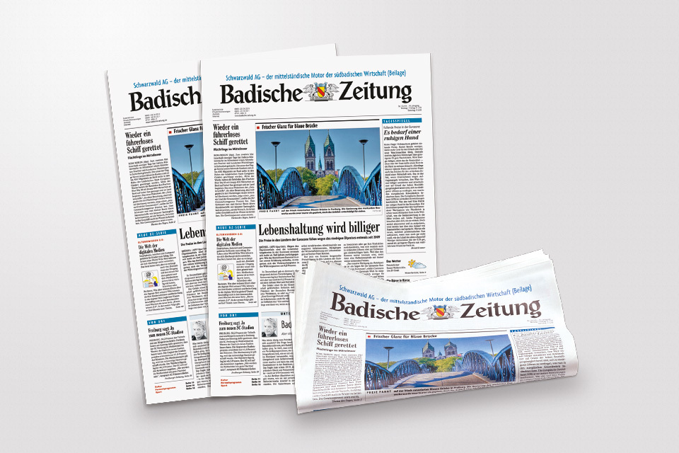 Gedruckte Zeitung