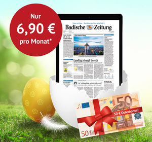 50 € iPad-Bonus