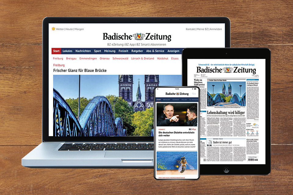 Komplett Paket als BZ-Digital Leser