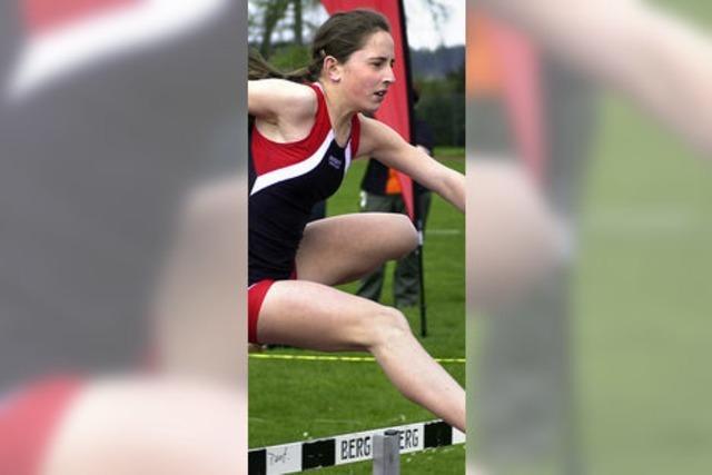 Janice Waldvogel wirft den Speer auf Rekordweite